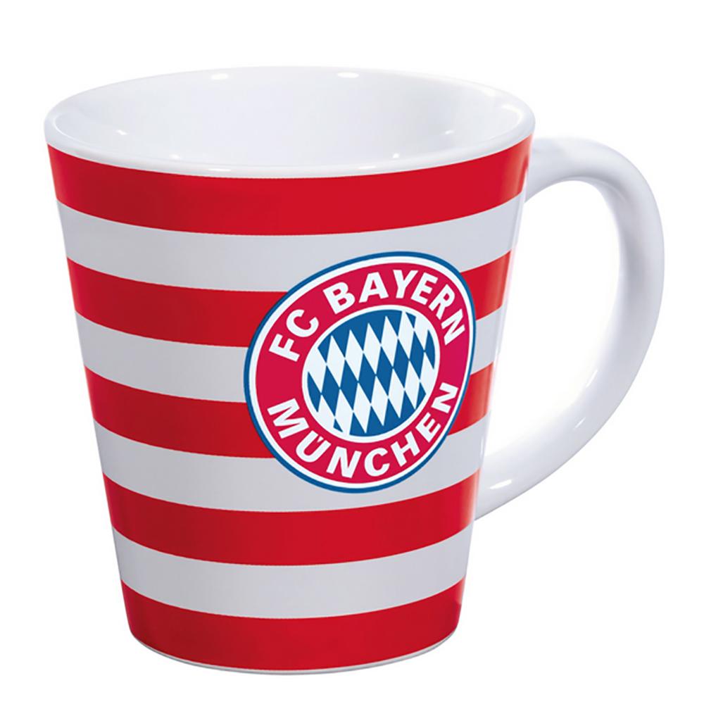 FC Bayern München Tasse Streifen