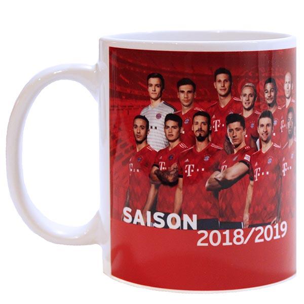 FC Bayern München Tasse Team 2018/2019