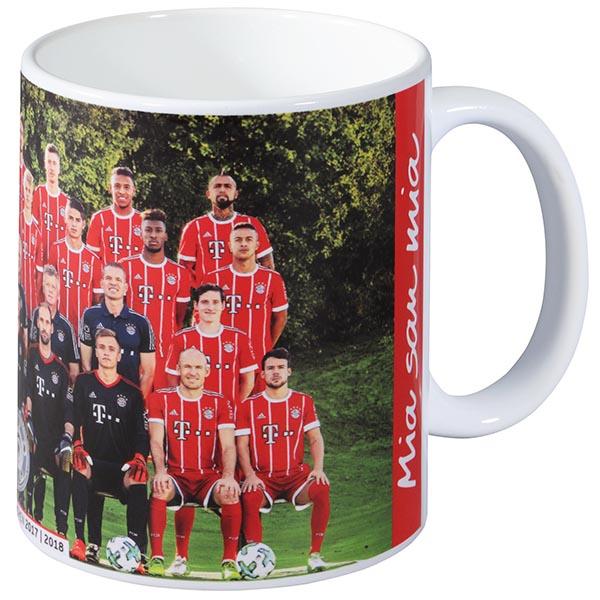 FC Bayern München Tasse Team 2017/2018