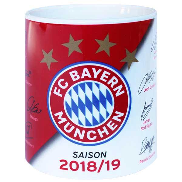 FC Bayern München Tasse Unterschriften 2018/2019