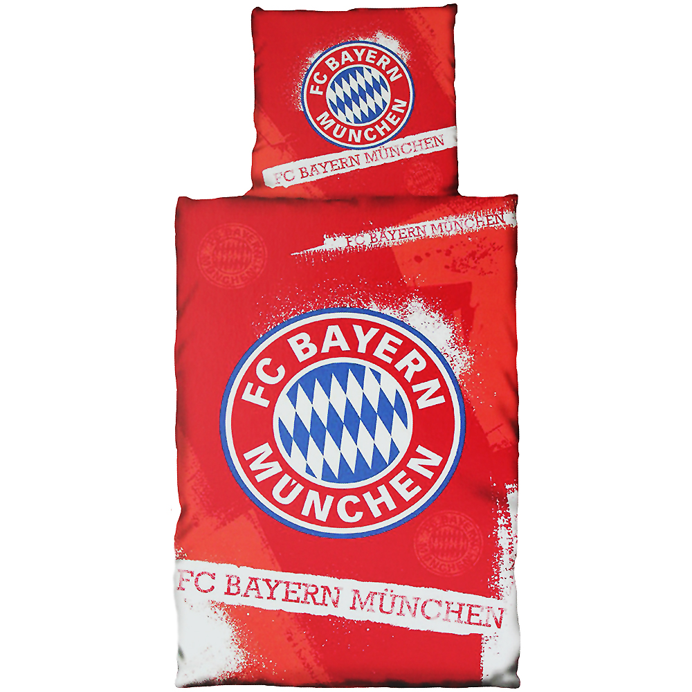 fc bayern m nchen bettw sche fan. Black Bedroom Furniture Sets. Home Design Ideas