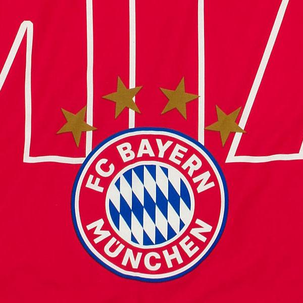 Fc Bayern München Bettwäsche Mia San Mia Glow In The Dark 135 X 200