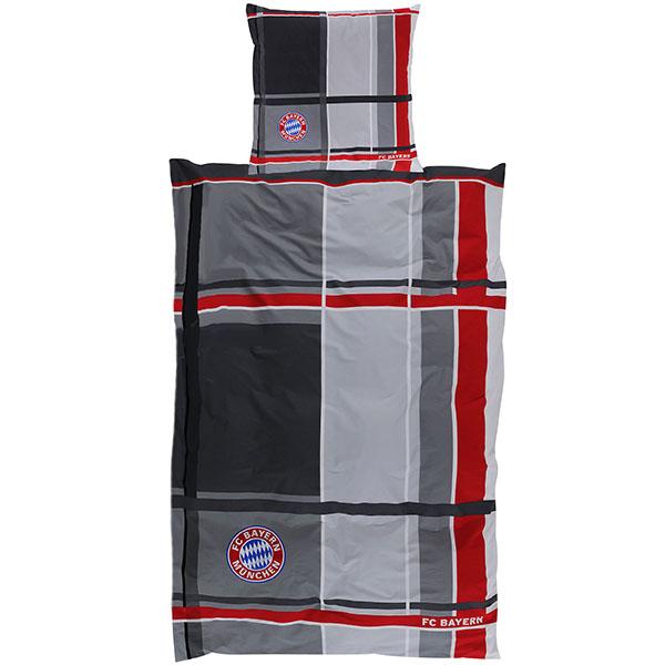 FC Bayern München Bettwäsche Karo