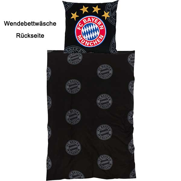 fc bayern m nchen bettw sche bayern logo. Black Bedroom Furniture Sets. Home Design Ideas