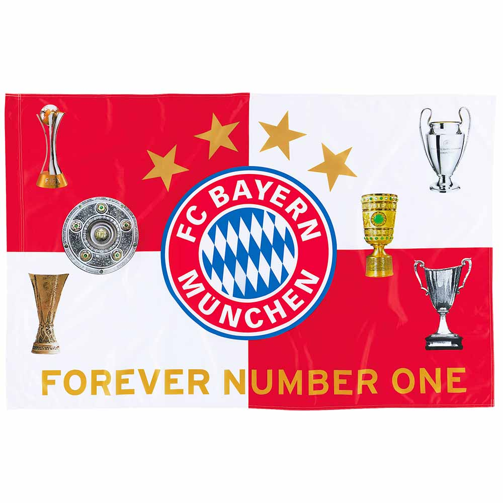 fc bayern m nchen fahne pokale flagge fc bayern m nchen logo 150 x 100 4045468186978 ebay. Black Bedroom Furniture Sets. Home Design Ideas