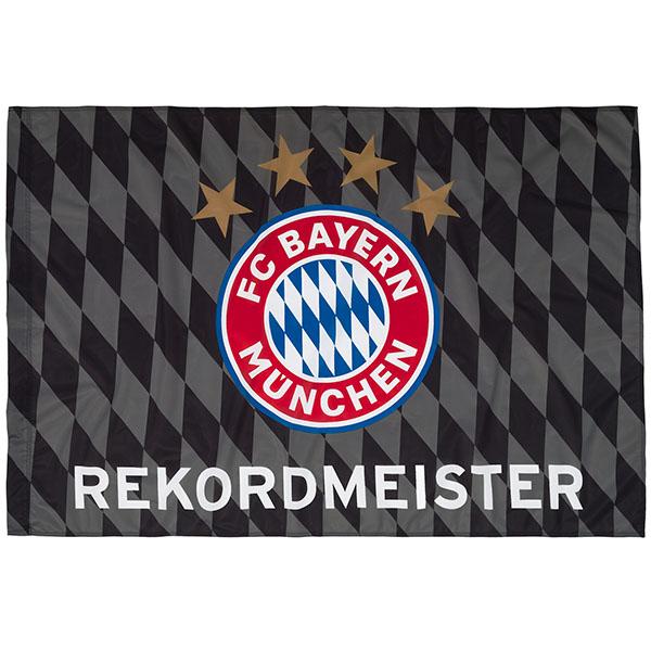 FC Bayern München Fahne Rekordmeister 150 x 100