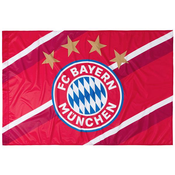 FC Bayern München Fahne Stripes 150 x 100