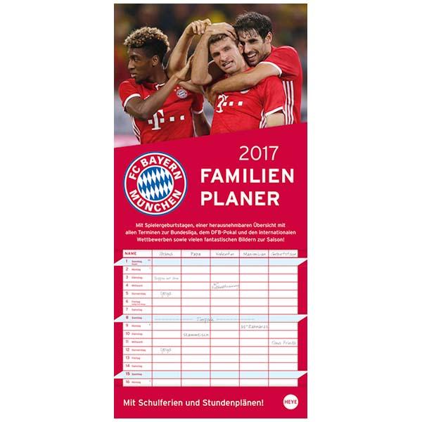 FC Bayern München Familienplaner 2017