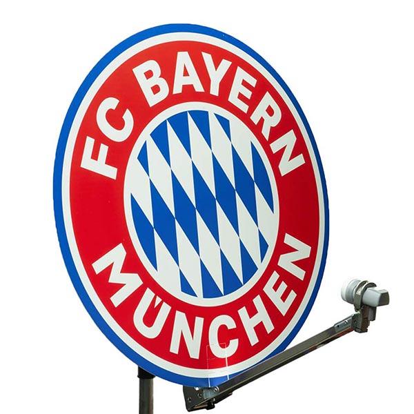FC Bayern München Satelliten Schüssel Abdeckung 88 cm