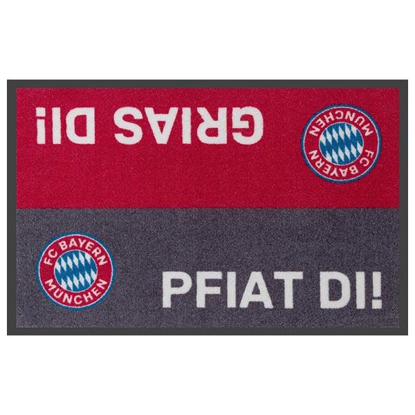 FC Bayern München Fussmatte Spruch