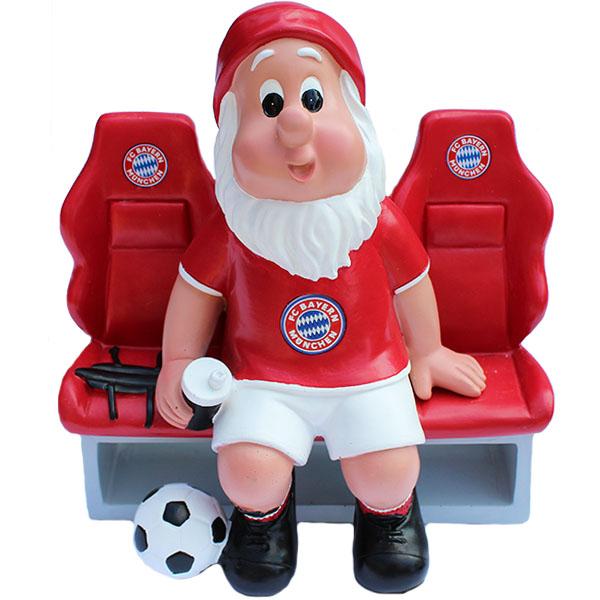 FC Bayern München Gartenzwerg Ersatzbank