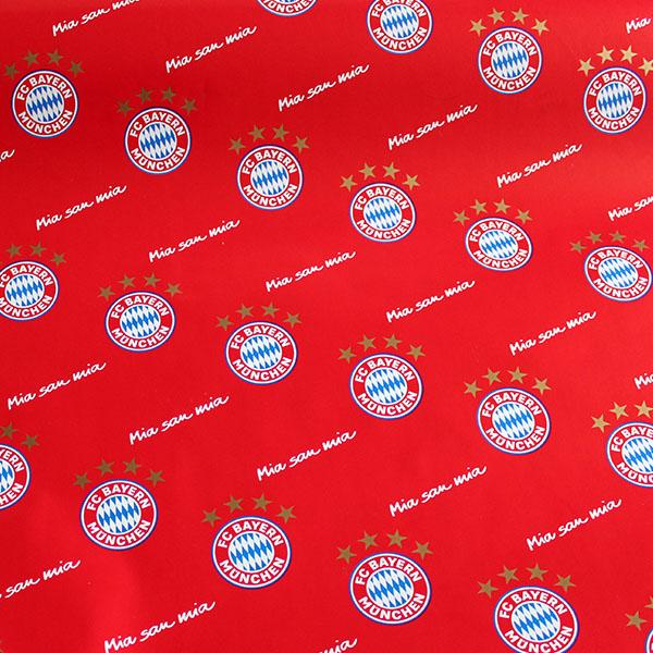 FC Bayern München Geschenkpapier Mia san mia