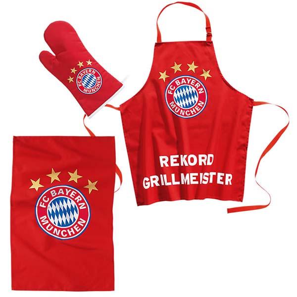 FC Bayern München Grillschürze Grillmeister