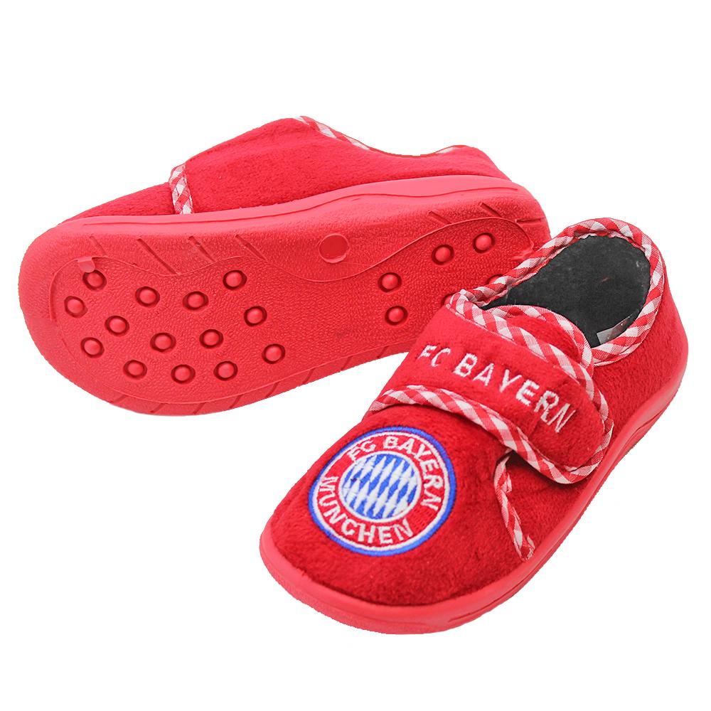FC Bayern München Kinder Hausschuhe Logo