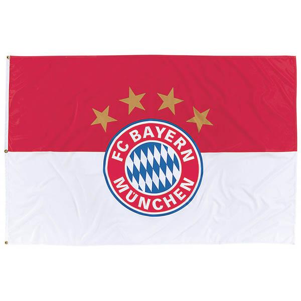 FC Bayern München Fahne Logo 180 x 120