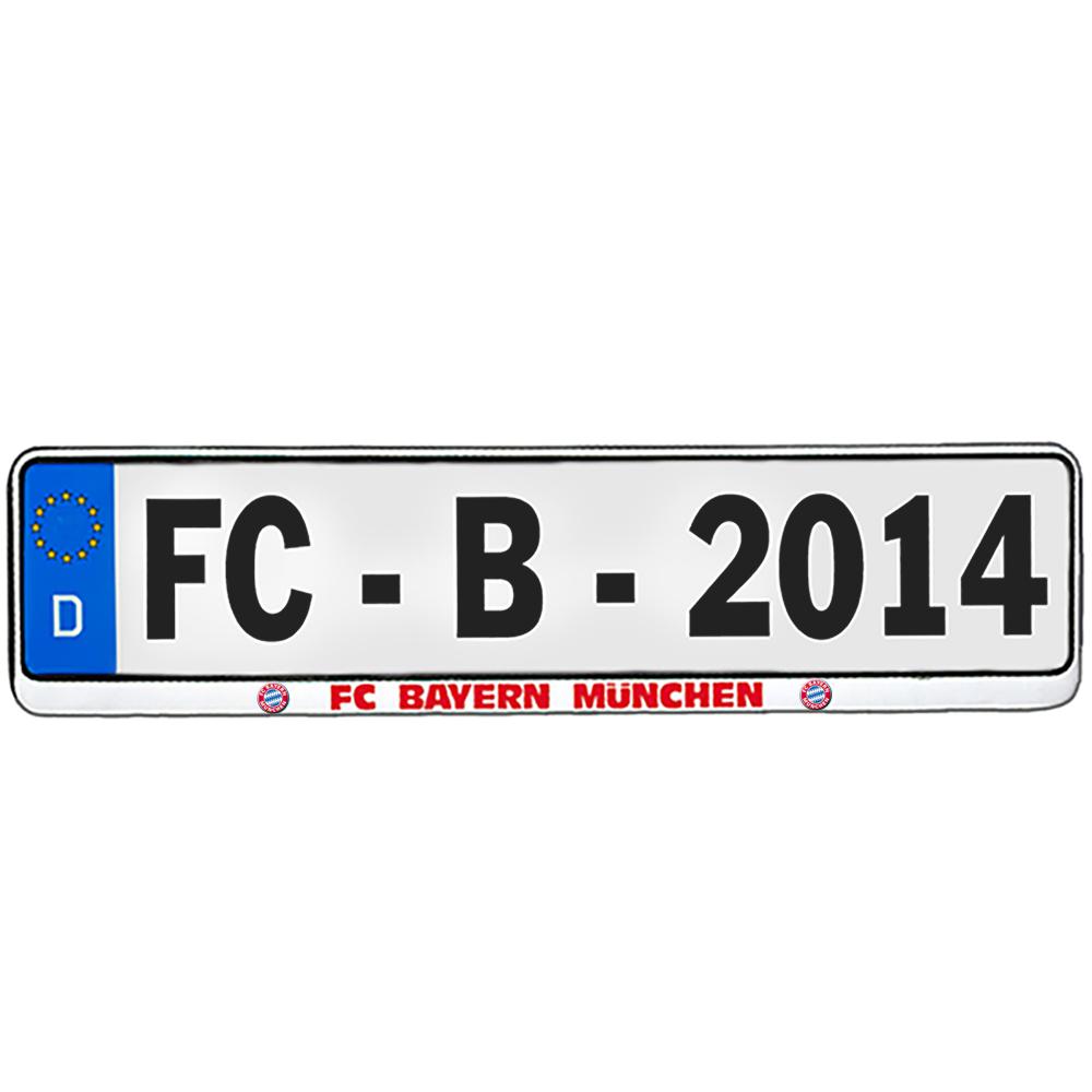 FC Bayern München Kennzeichenverstärker