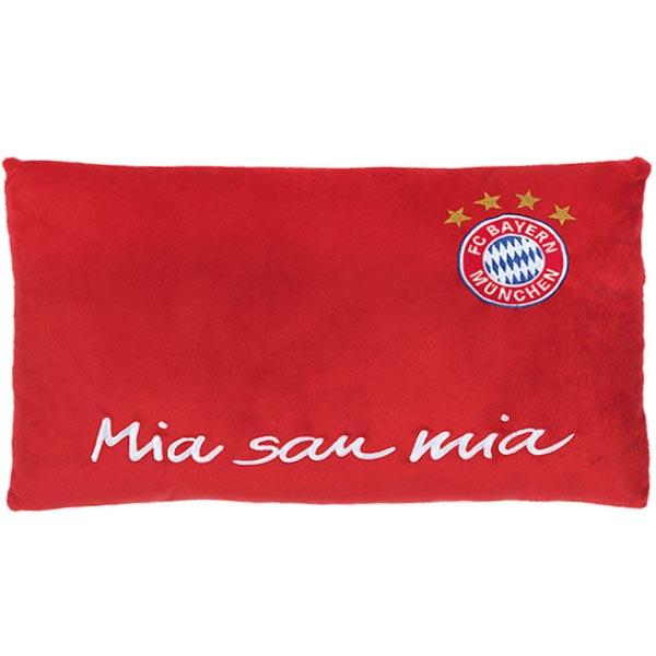 FC Bayern München Kissen Logo Nicki