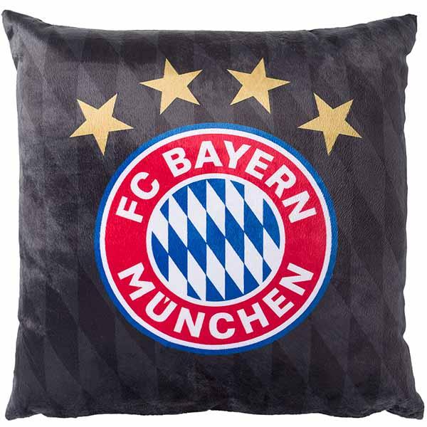 FC Bayern München Kissen Logo Plüsch