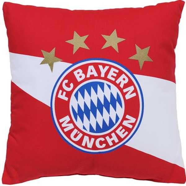 FC Bayern München Kissen rot weiss