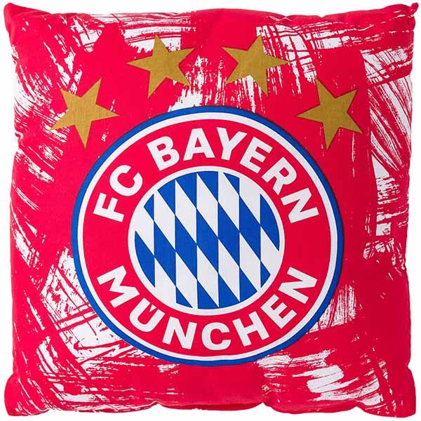 FC Bayern München Kissen Malerstreifen