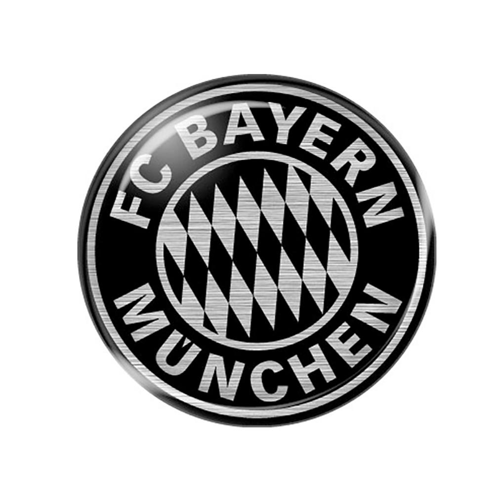 FC Bayern München Aufkleber FC Bayern Logo 3D rund