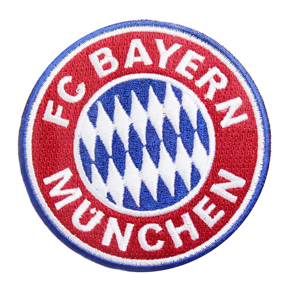 FC Bayern München Aufnäher Logo klein