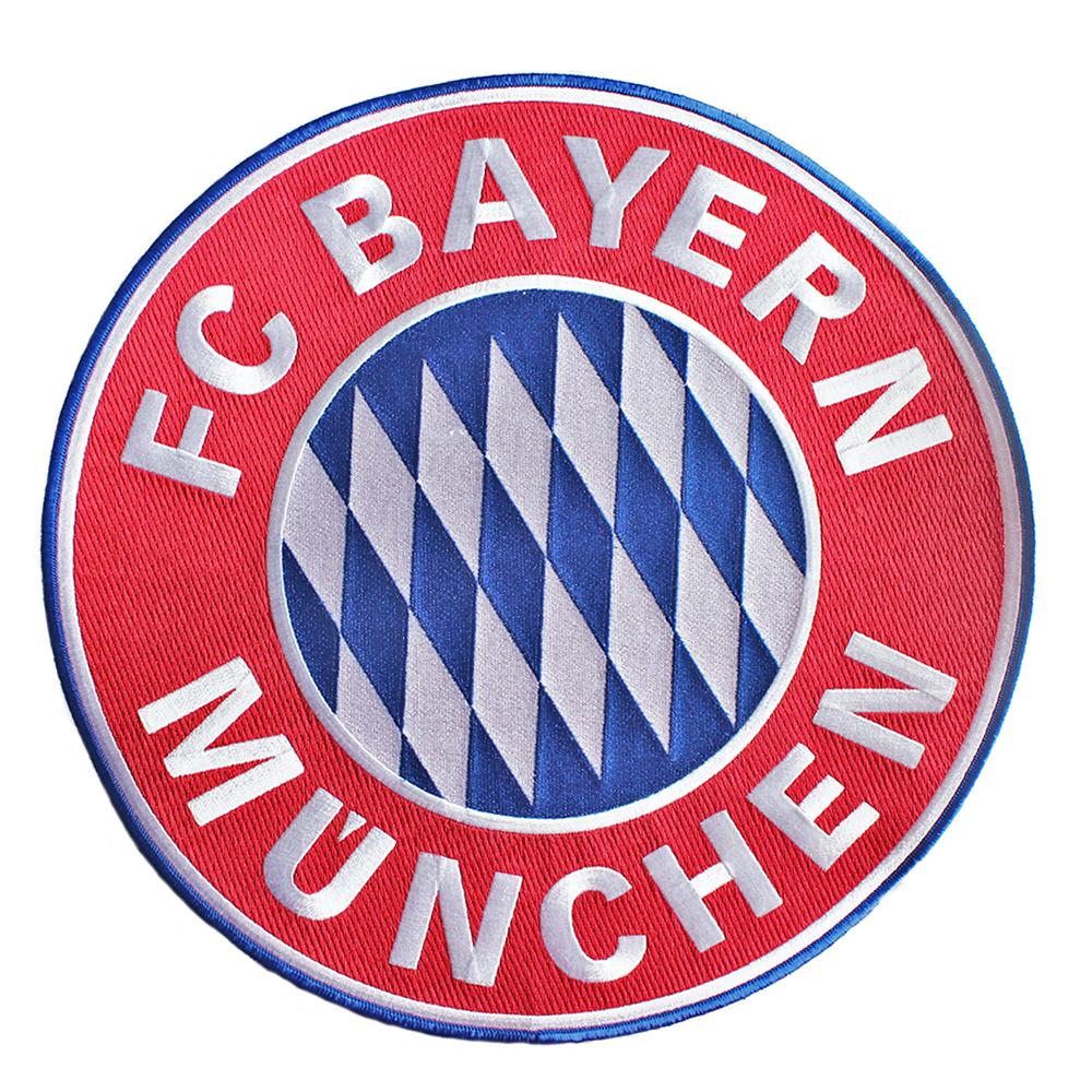 FC Bayern München Aufnäher Logo groß