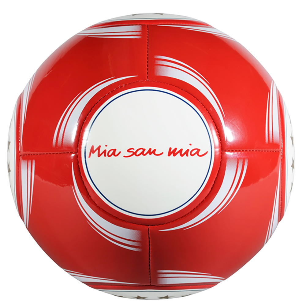 fc bayern m nchen fussball teamball mia san mia gr e 5 ebay. Black Bedroom Furniture Sets. Home Design Ideas