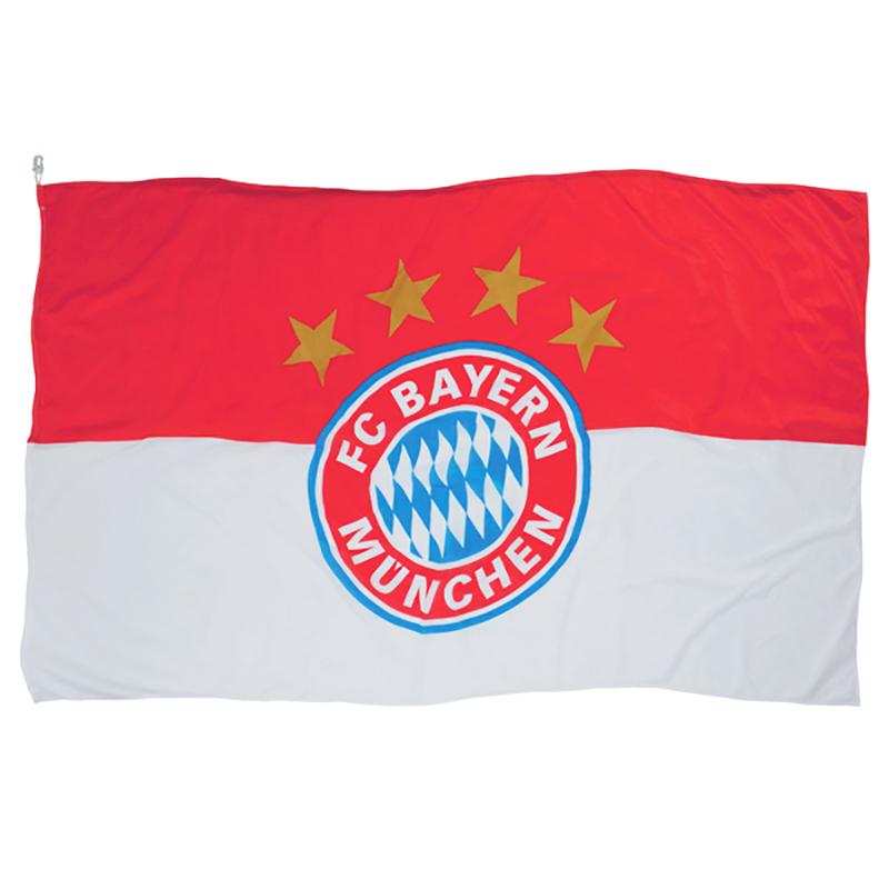 FC Bayern München Hissfahne 250 x 150