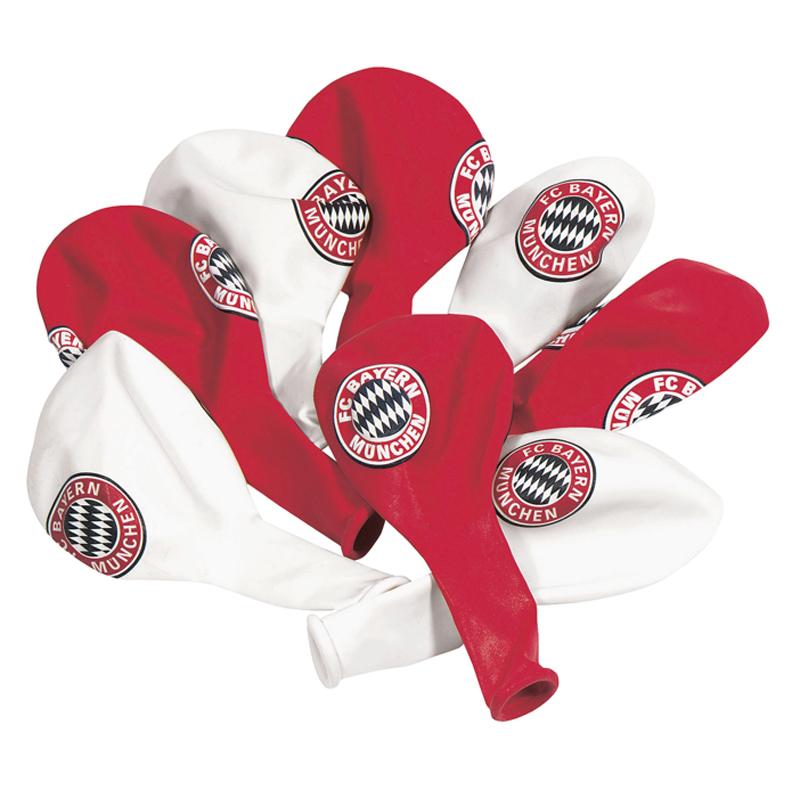FC Bayern München Luftballons 10er-Set