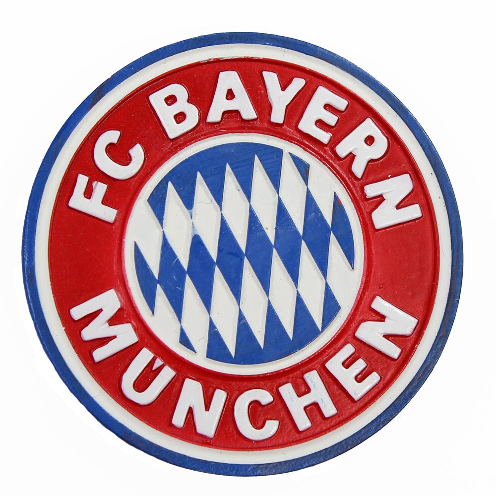 FC Bayern München Decke Malerstreifen Fleecedecke FC Bayern Logo 150 x 200 rot Fußball