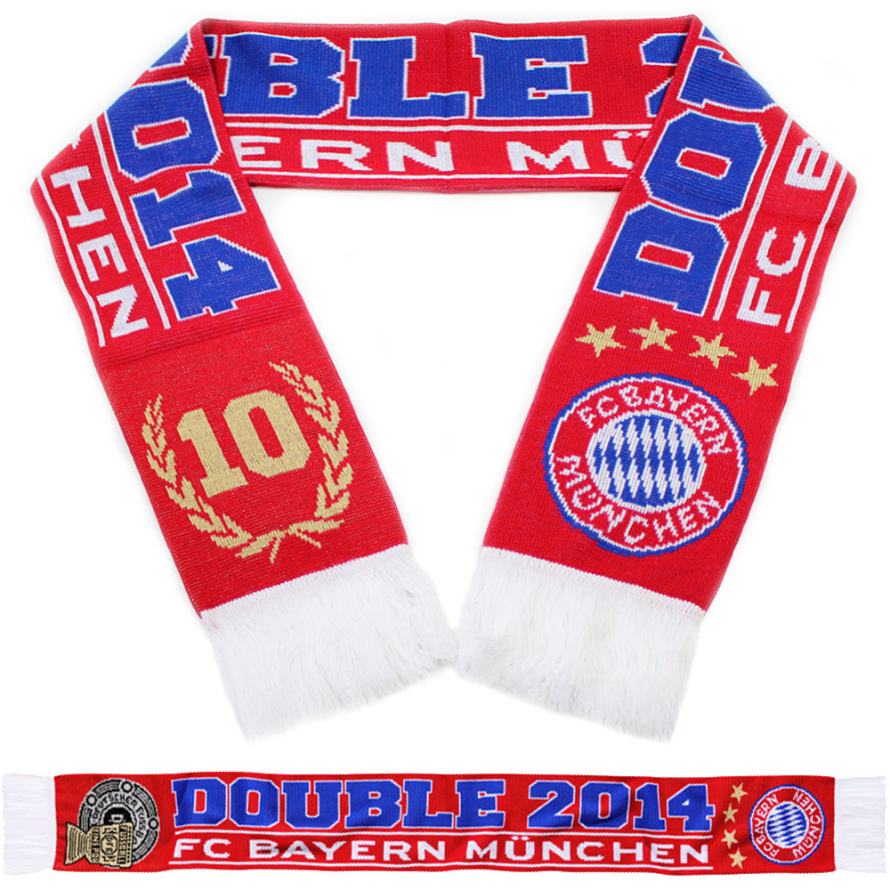 FC Bayern München Schal Double 2014