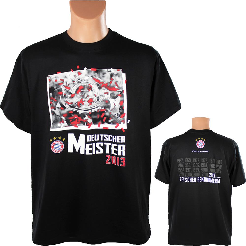 FC Bayern München T-Shirt Deutscher Meister 2013 128