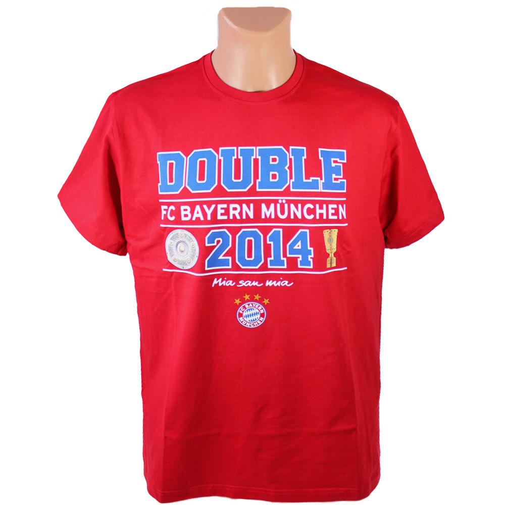 FC Bayern München T-Shirt Double 2014 S
