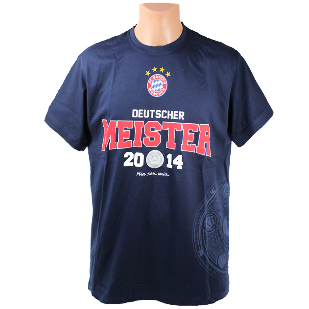 FC Bayern München T-Shirt Deutscher Meister 2014