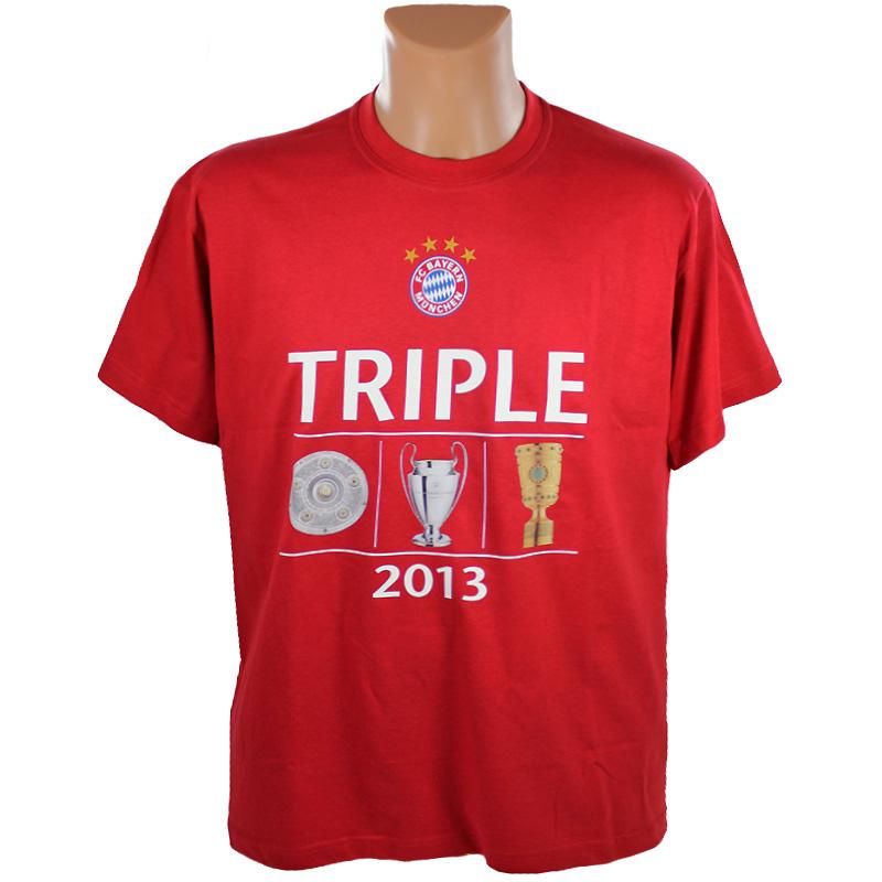 FC Bayern München T-Shirt Triple Meister 2013