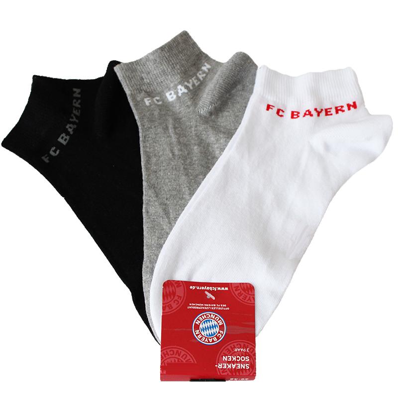 FC Bayern München Sneakersocken 3er Set