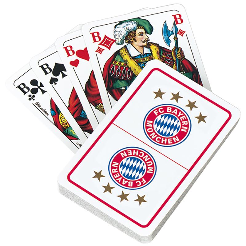 FC Bayern München Spielkarten Skat