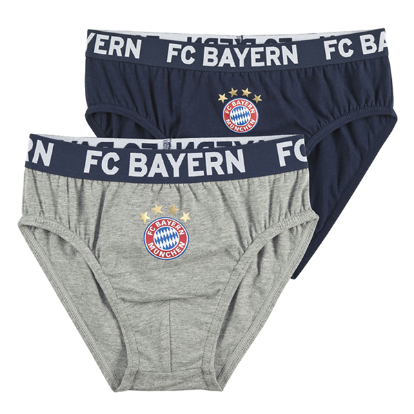 fc bayern m nchen kinder slip 2er set. Black Bedroom Furniture Sets. Home Design Ideas