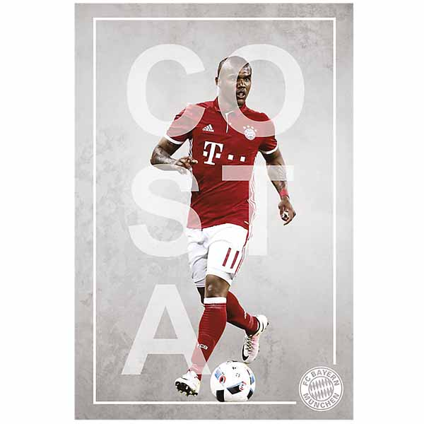 FC Bayern München Poster Douglas Costa