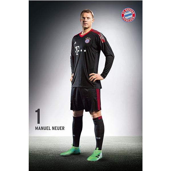 FC Bayern München Poster Manuel Neuer