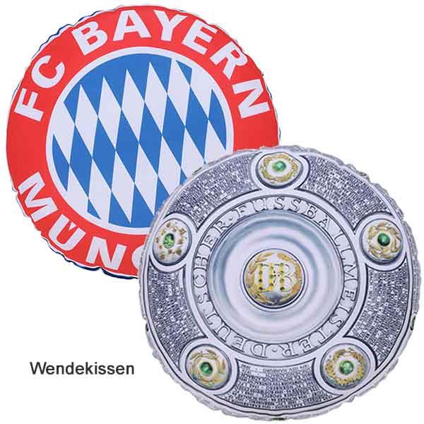 FC Bayern München Kissen Rekordmeister rund