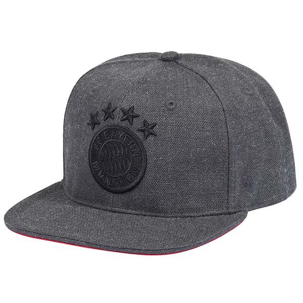 FC Bayern München Snapback Cap Emblem anthrazit