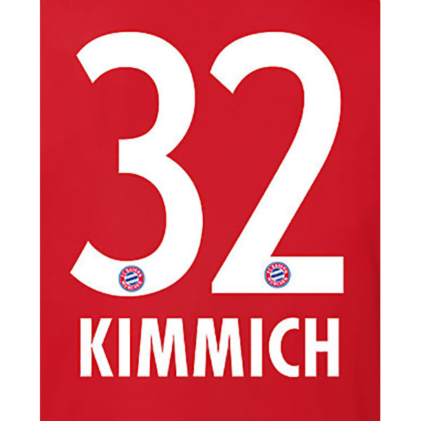 FC Bayern München Trikot Flock Home Kimmich 32
