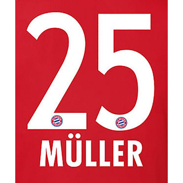 FC Bayern München Trikot Flock Home Müller 25