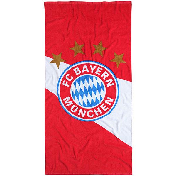 FC Bayern München Strandtuch Rot / Weiß