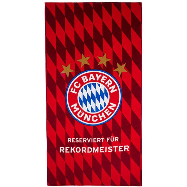 FC Bayern München Strandtuch Rekordmeister