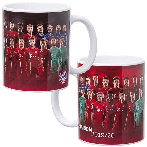 FC Bayern München Tasse Team 2019/2020