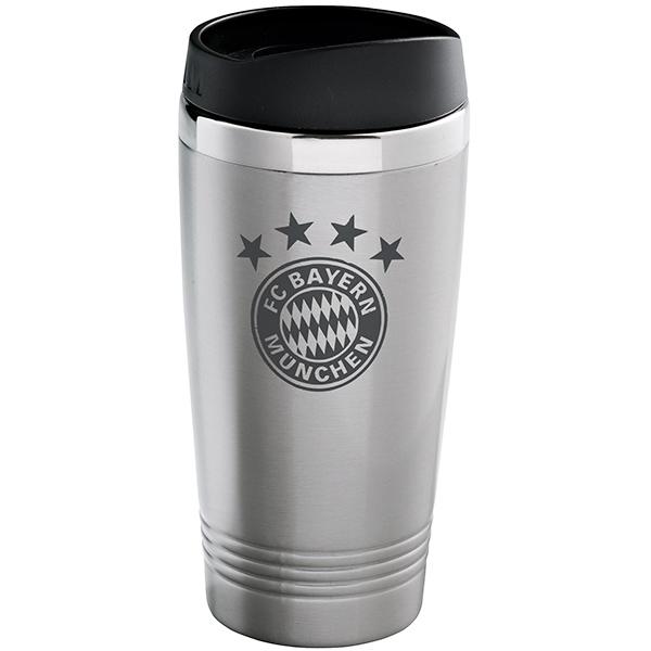 FC Bayern München Thermobecher silber