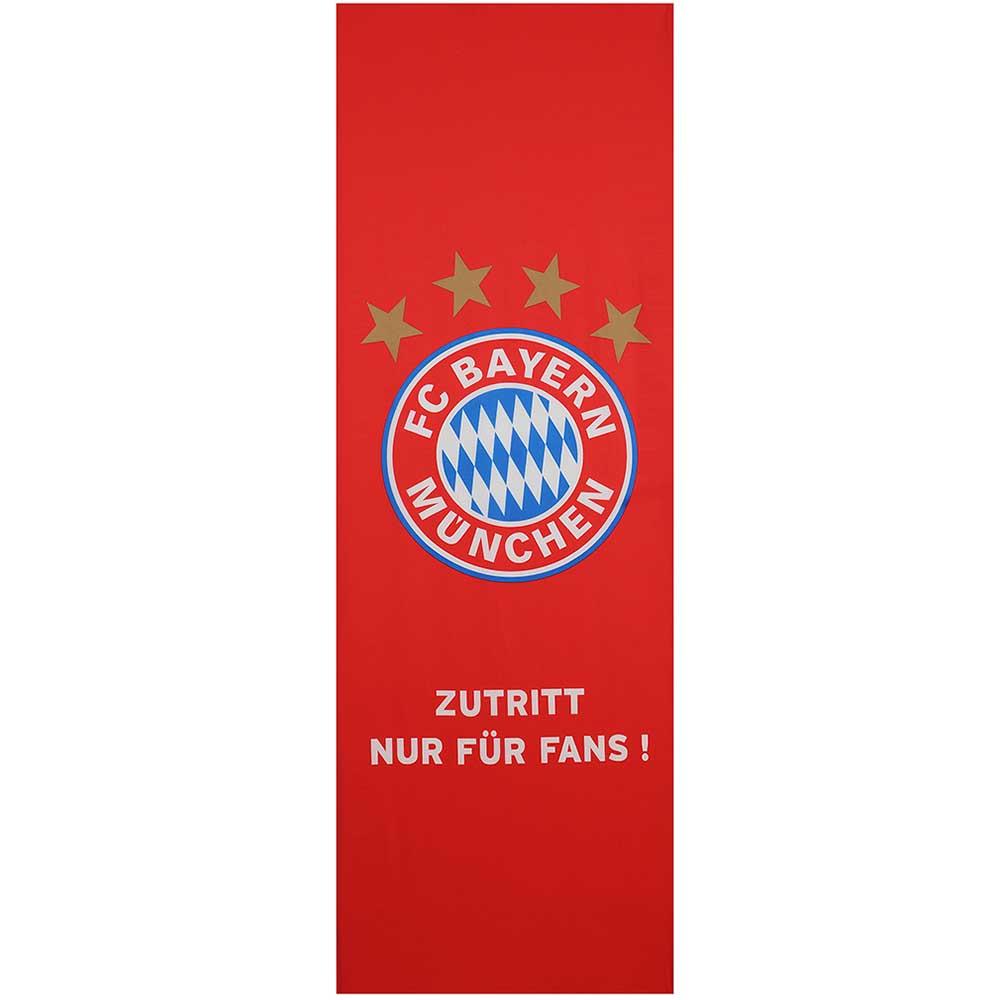 FC Bayern München Türspanner Zutritt nur für Fans